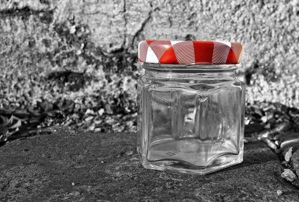 Frasco de vidro