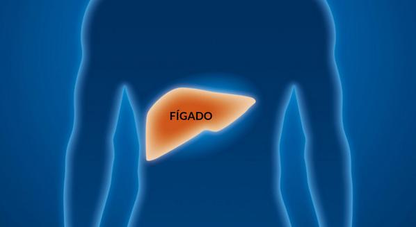 Fígado com hepatite